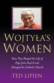 "Link to ""Wojtyla's Women: How They Shaped the Life of Pope John Paul II and Changed the Catholic Church"" by Ted Lipien on Amazon."